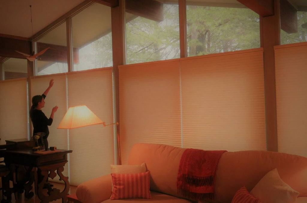 Amherst PowerView Window Shades for Living Rooms in Chatham, Massachusetts (MA)