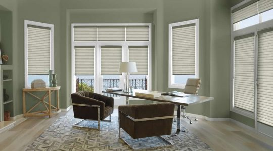 Benefits of Custom Roller Shades in Chatham and Wilbraham, Massachusetts (MA) for Home Study Rooms