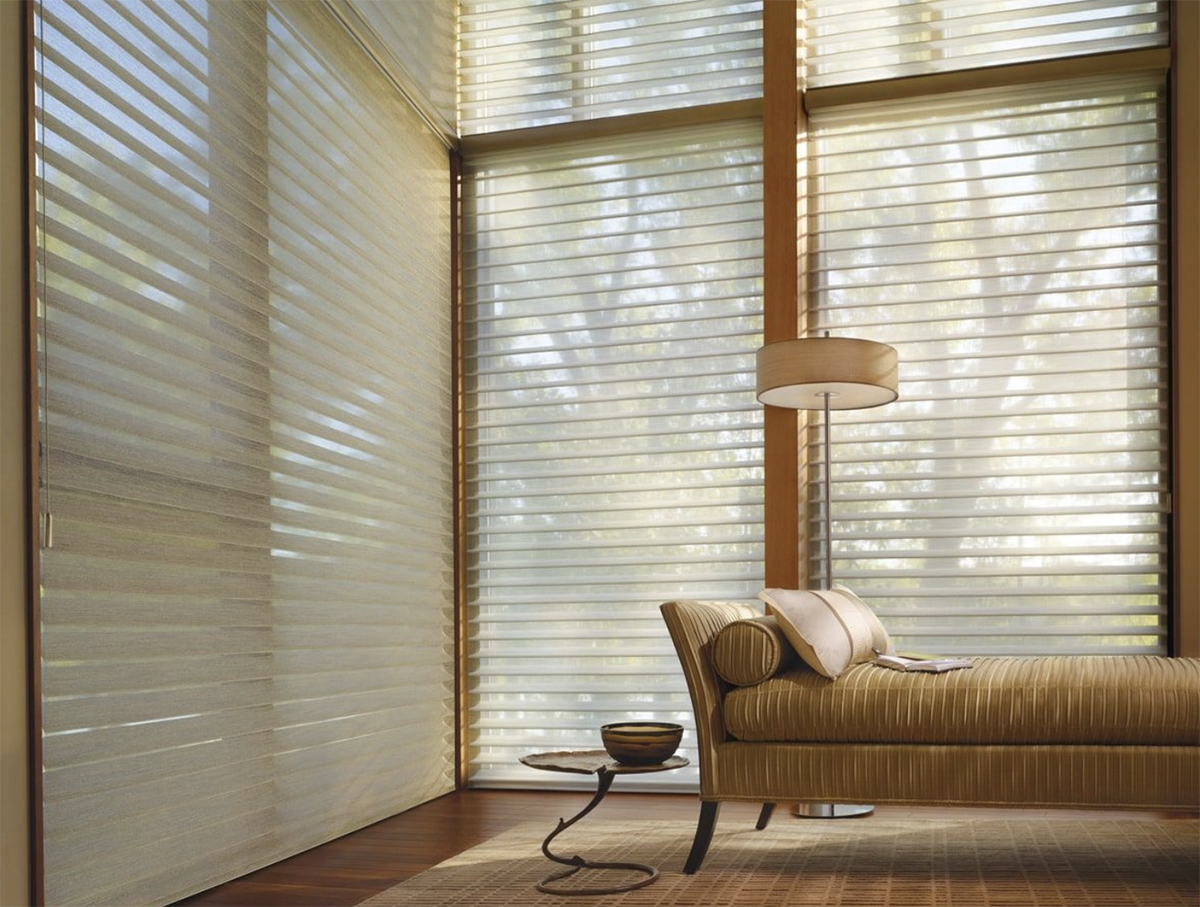 Custom Sheers and Shadings for Homes in Chatham, Massachusetts (MA) like Silhouette for Light Control Fabrics